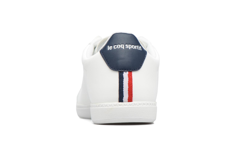 Sneakers Le Coq Sportif Courtset Bianco immagine destra