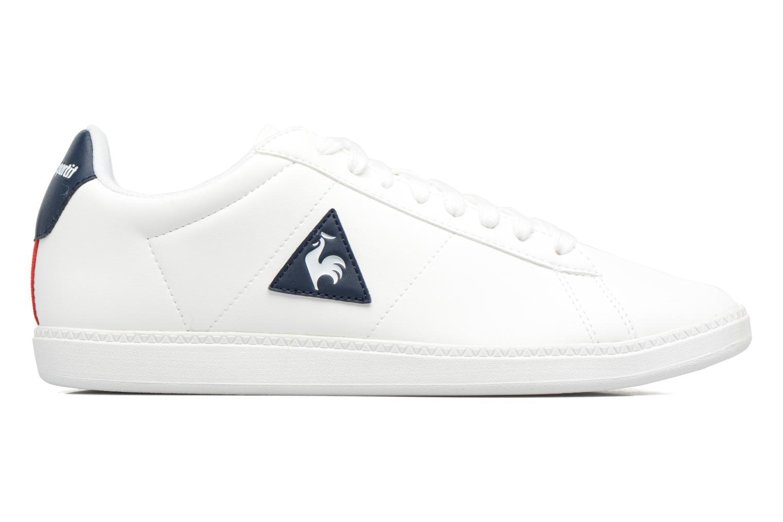 Sneakers Le Coq Sportif Courtset Bianco immagine posteriore