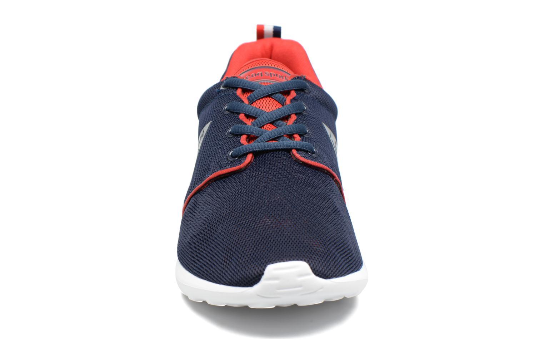 Baskets Le Coq Sportif Dynacomf Mesh Bleu vue portées chaussures