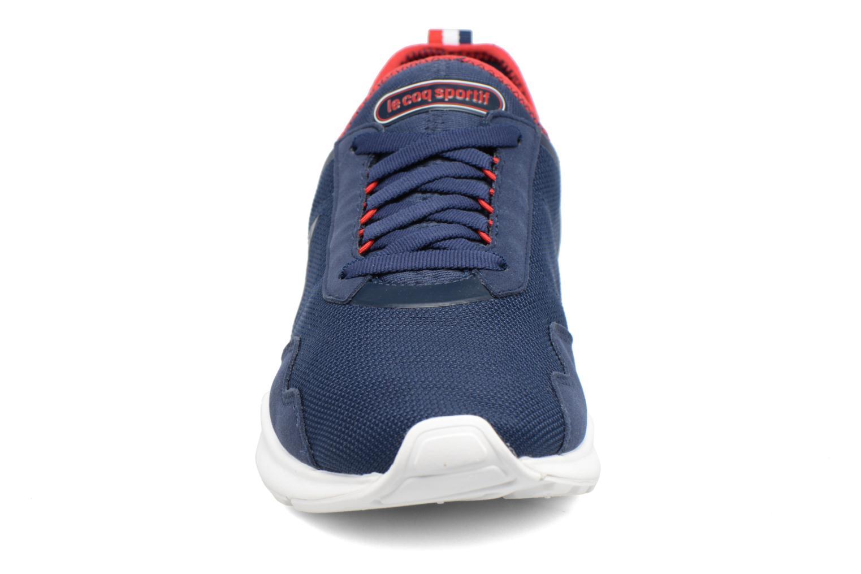 Baskets Le Coq Sportif LCS R XX Bleu vue portées chaussures