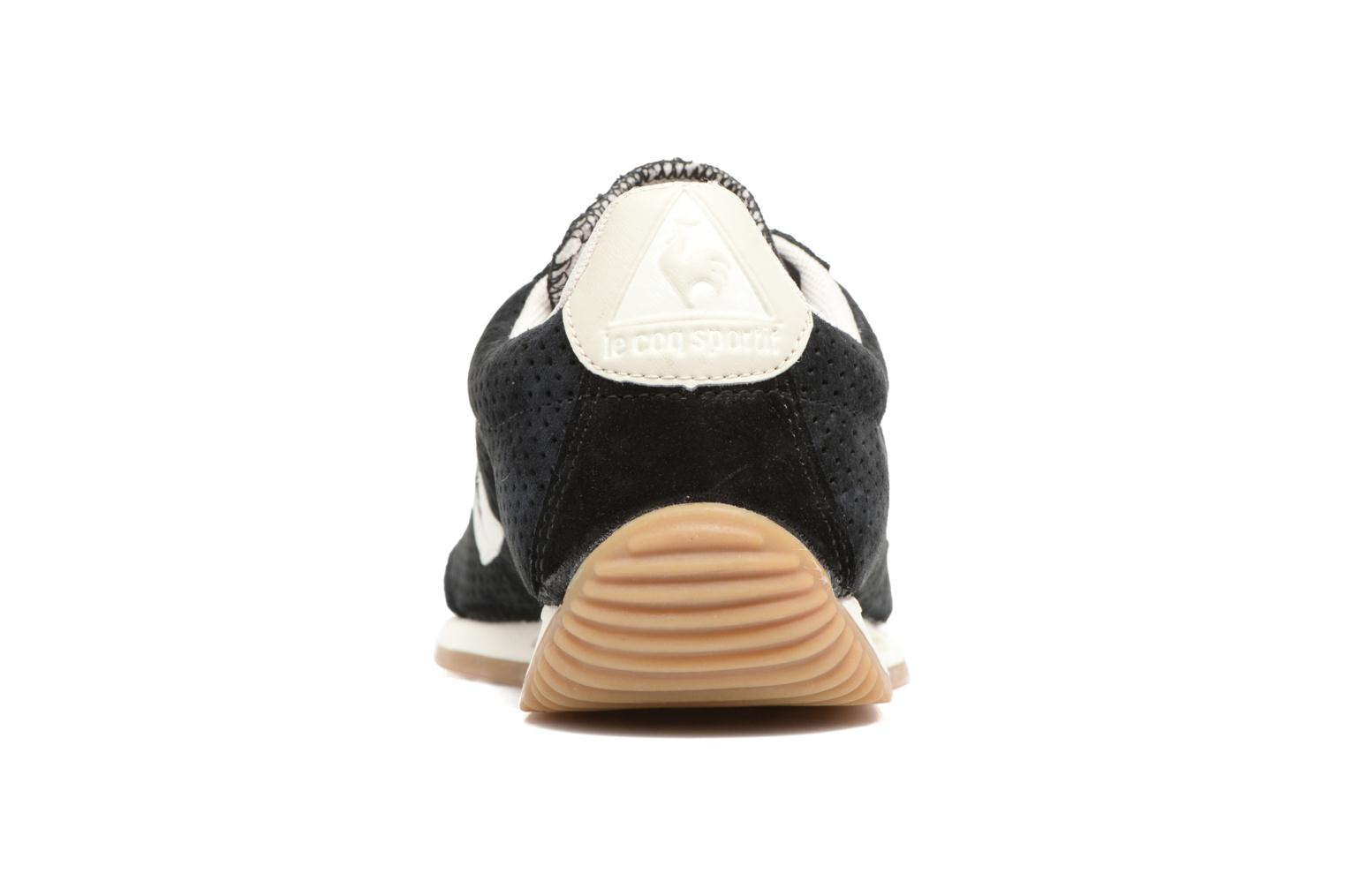Quartz Perforated Nubuck Black/Turtle