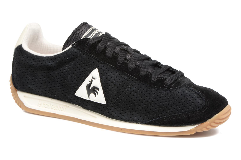 00be0291ac3b le coq sportif white leather quartz sneakers black