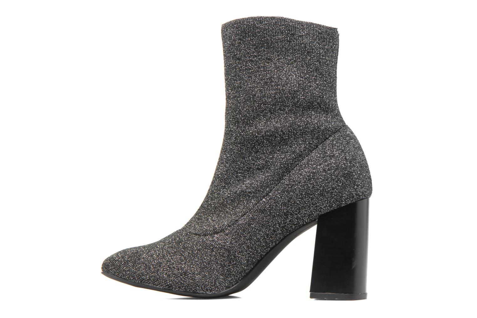 Ankle boots Bullboxer Alienor Silver front view