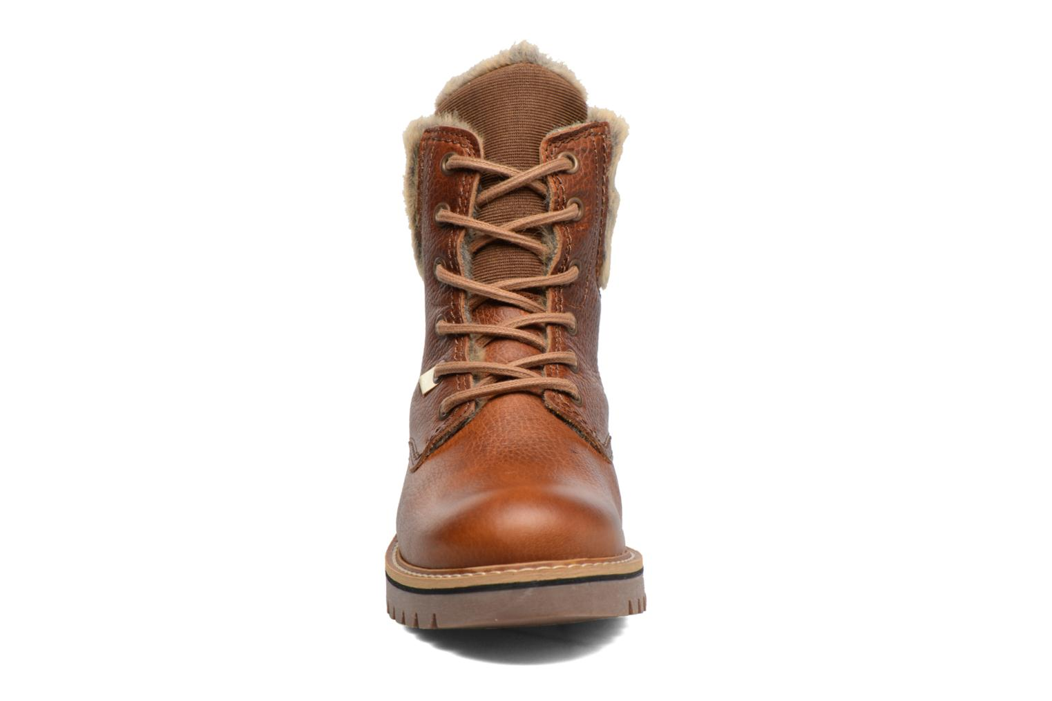 Ankle boots Bullboxer Hilis Brown model view