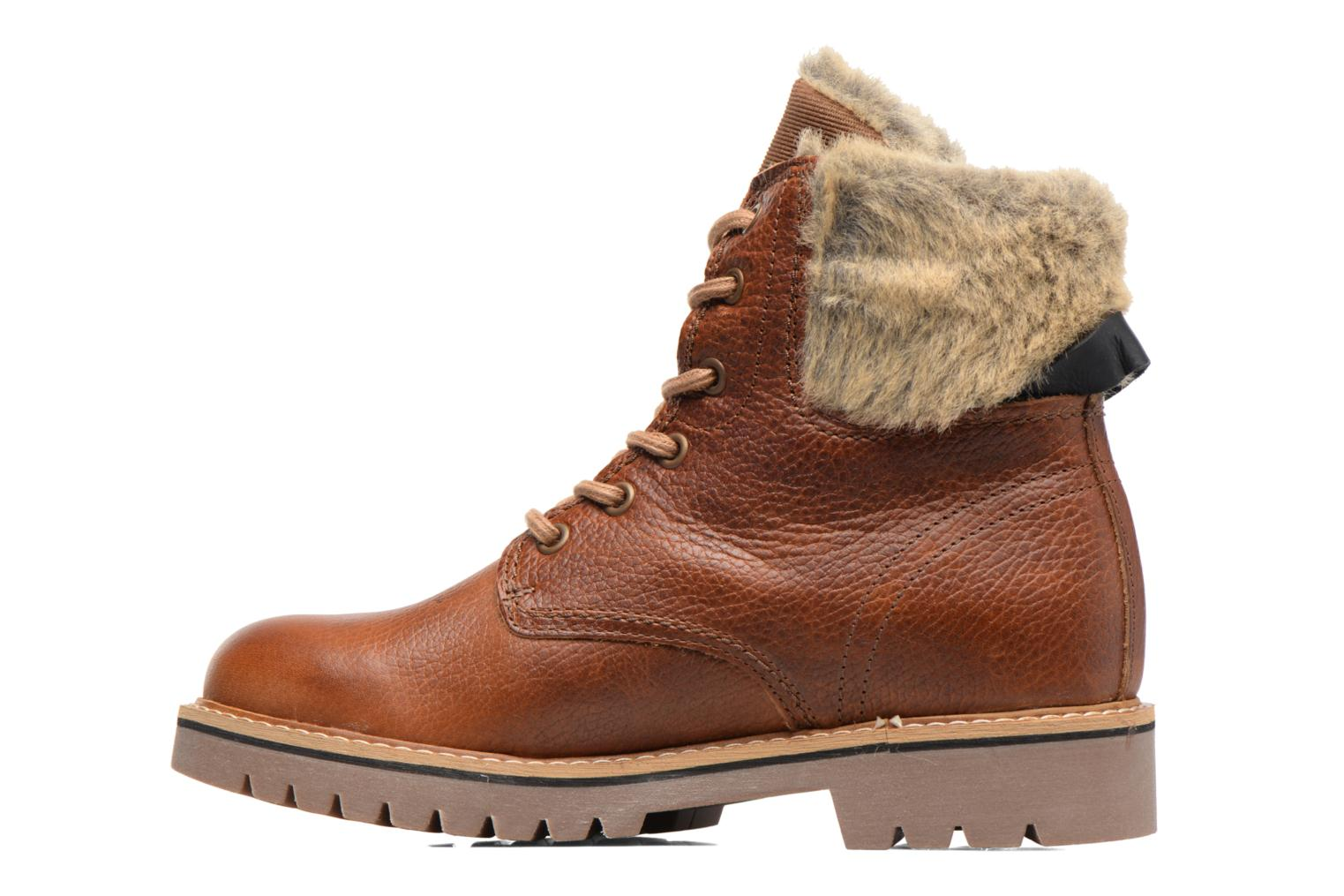 Ankle boots Bullboxer Hilis Brown front view