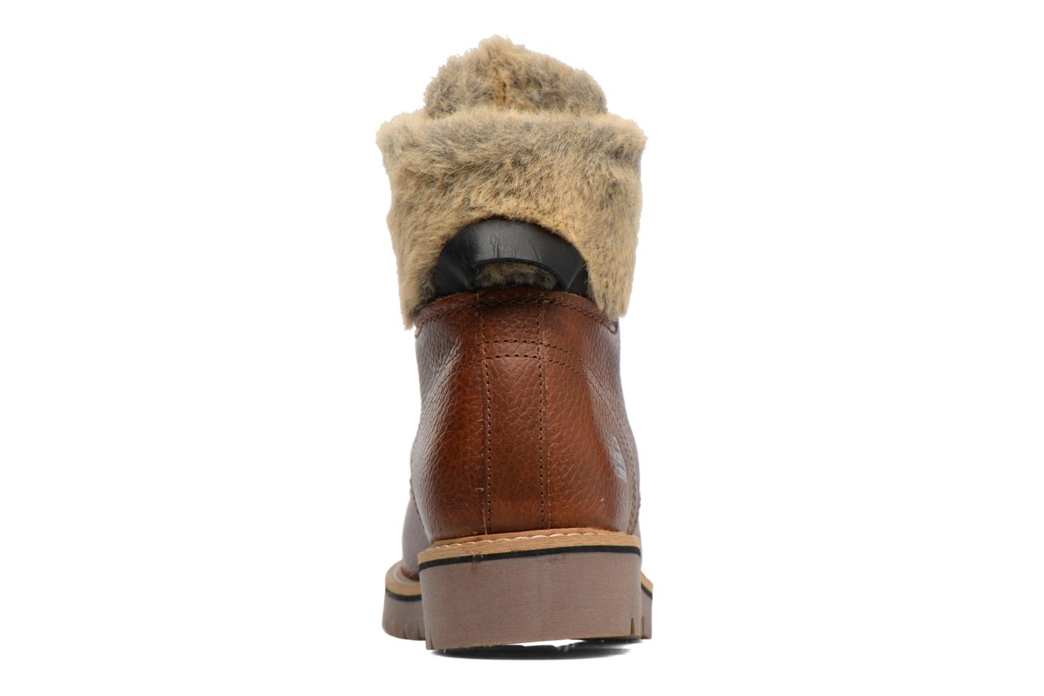 Ankle boots Bullboxer Hilis Brown view from the right