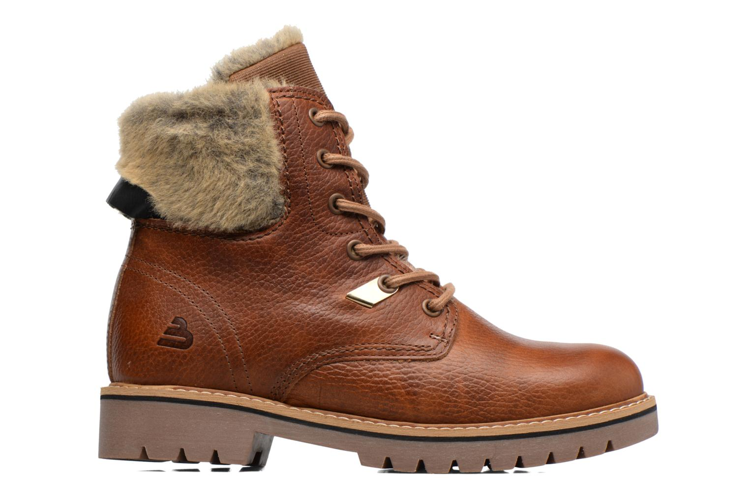 Ankle boots Bullboxer Hilis Brown back view