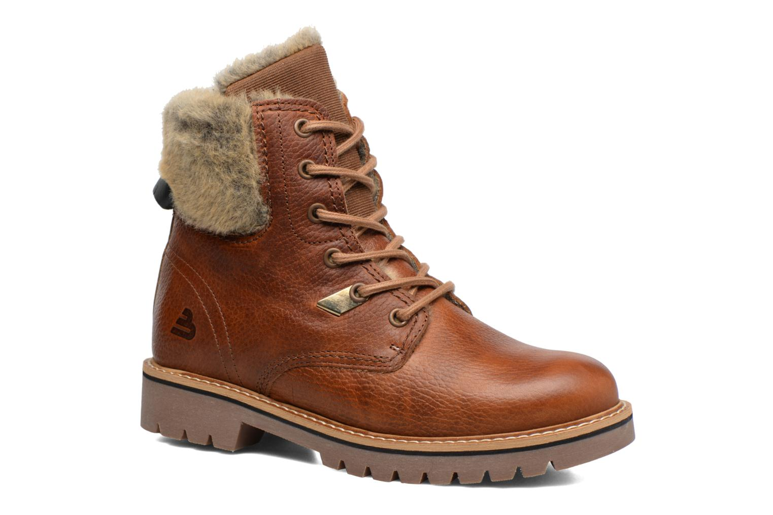 Ankle boots Bullboxer Hilis Brown detailed view/ Pair view