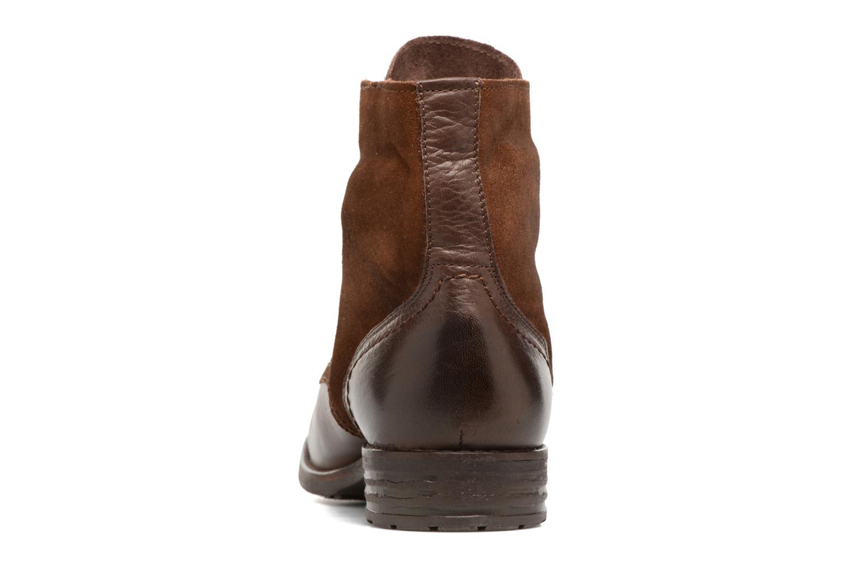 Bottines et boots Pieces Andara Marron vue droite