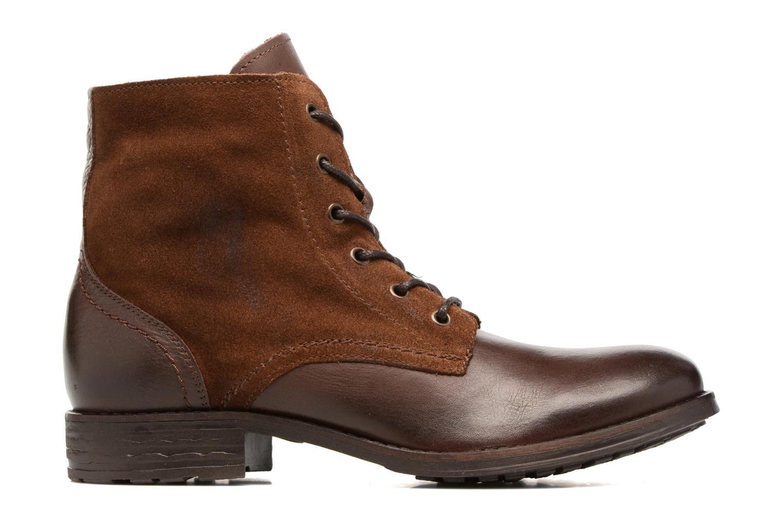 Bottines et boots Pieces Andara Marron vue derrière