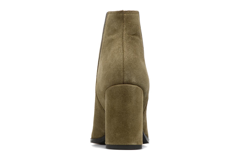 Bottines et boots Pieces Padgytt Vert vue droite