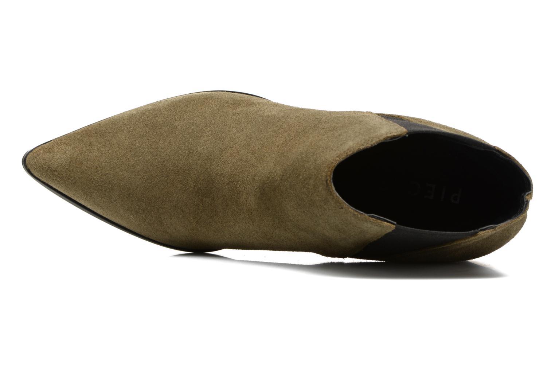 Bottines et boots Pieces Padgytt Vert vue gauche