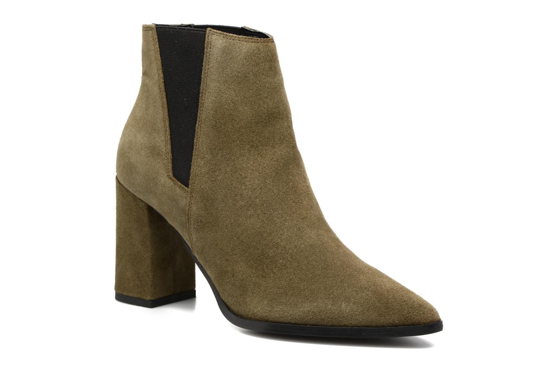 Bottines et boots Pieces Padgytt Vert vue détail/paire
