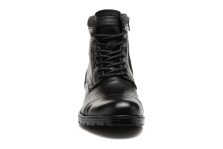 Bottines et boots Jack & Jones JFWMARLY LEATHER Noir vue portées chaussures