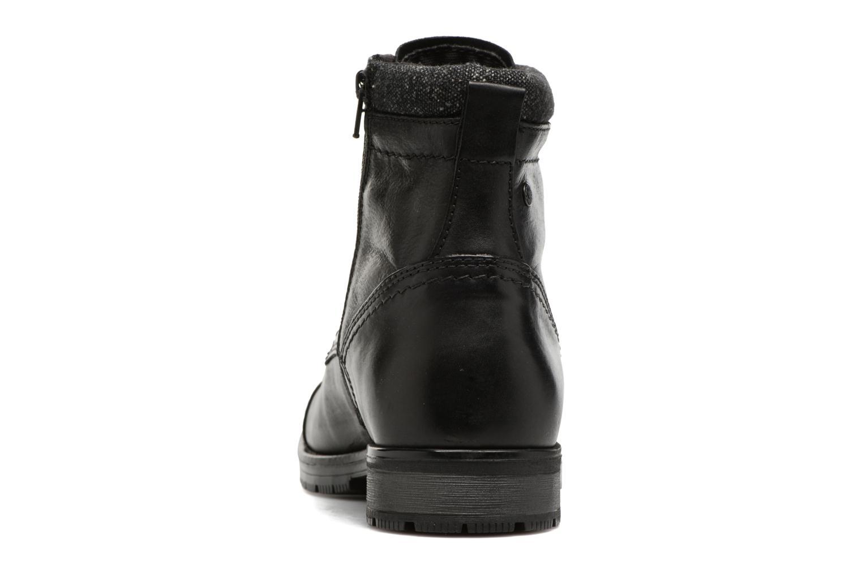 Bottines et boots Jack & Jones JFWMARLY LEATHER Noir vue droite