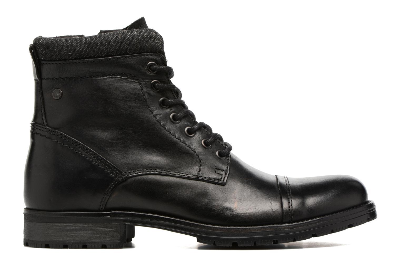 Bottines et boots Jack & Jones JFWMARLY LEATHER Noir vue derrière