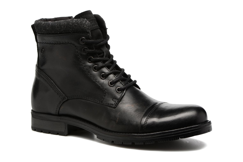Bottines et boots Jack & Jones JFWMARLY LEATHER Noir vue détail/paire