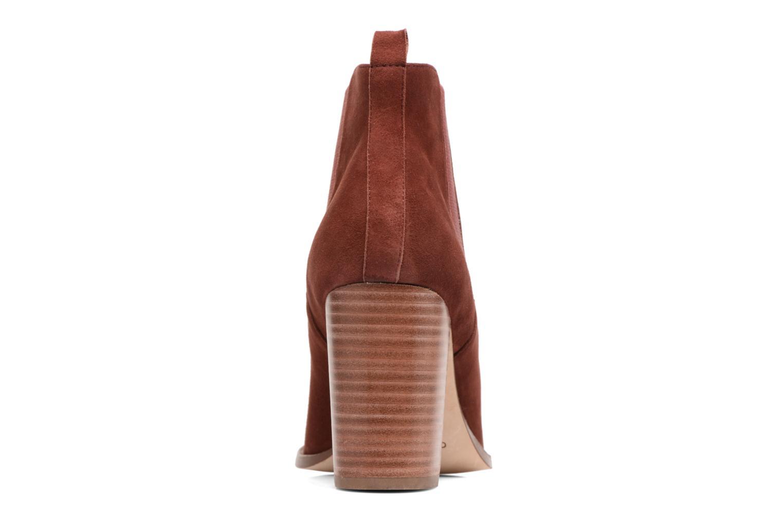 Bottines et boots COSMOPARIS JEDINI/VEL Rouge vue droite