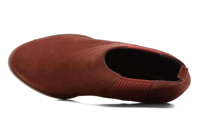 Bottines et boots COSMOPARIS JEDINI/VEL Rouge vue gauche