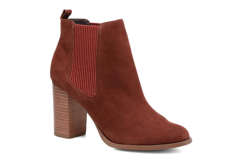 Bottines et boots COSMOPARIS JEDINI/VEL Rouge vue détail/paire