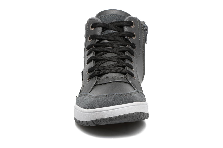 Baskets LICO Malte Gris vue portées chaussures