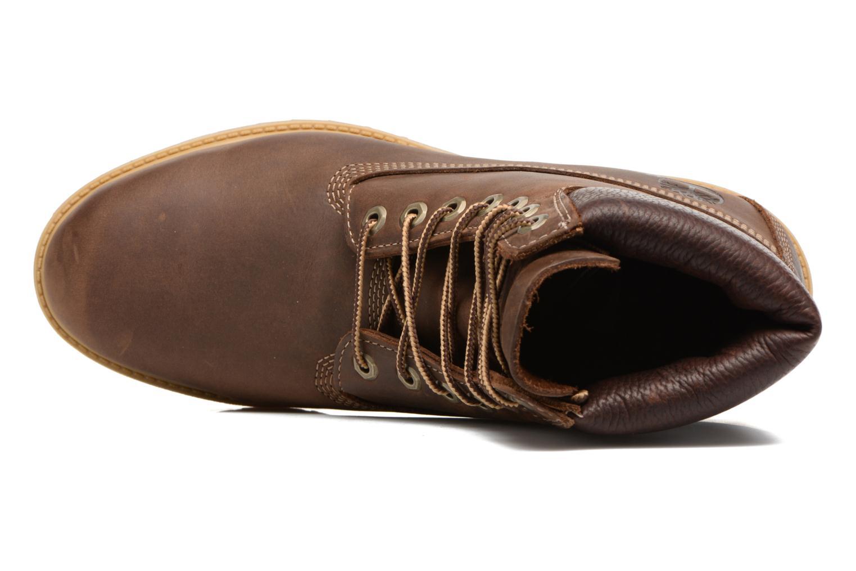 "Bottines et boots Timberland Heritage 6"" Premium Marron vue gauche"