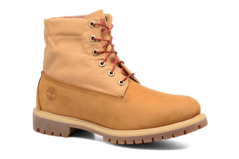 Bottines et boots Timberland Roll Top F/F AF Marron vue 3/4