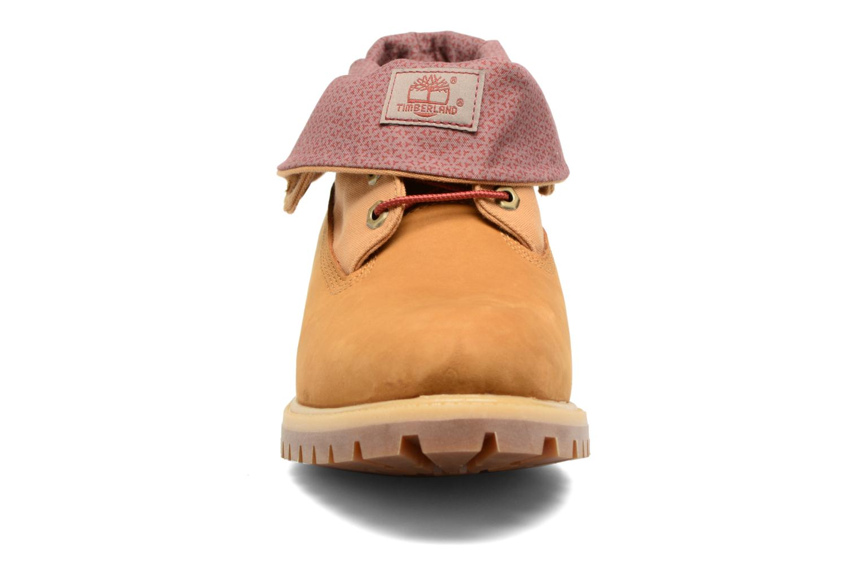 Stiefeletten & Boots Timberland Roll Top F/F AF braun schuhe getragen