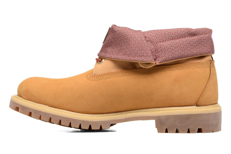 Stiefeletten & Boots Timberland Roll Top F/F AF braun ansicht von vorne