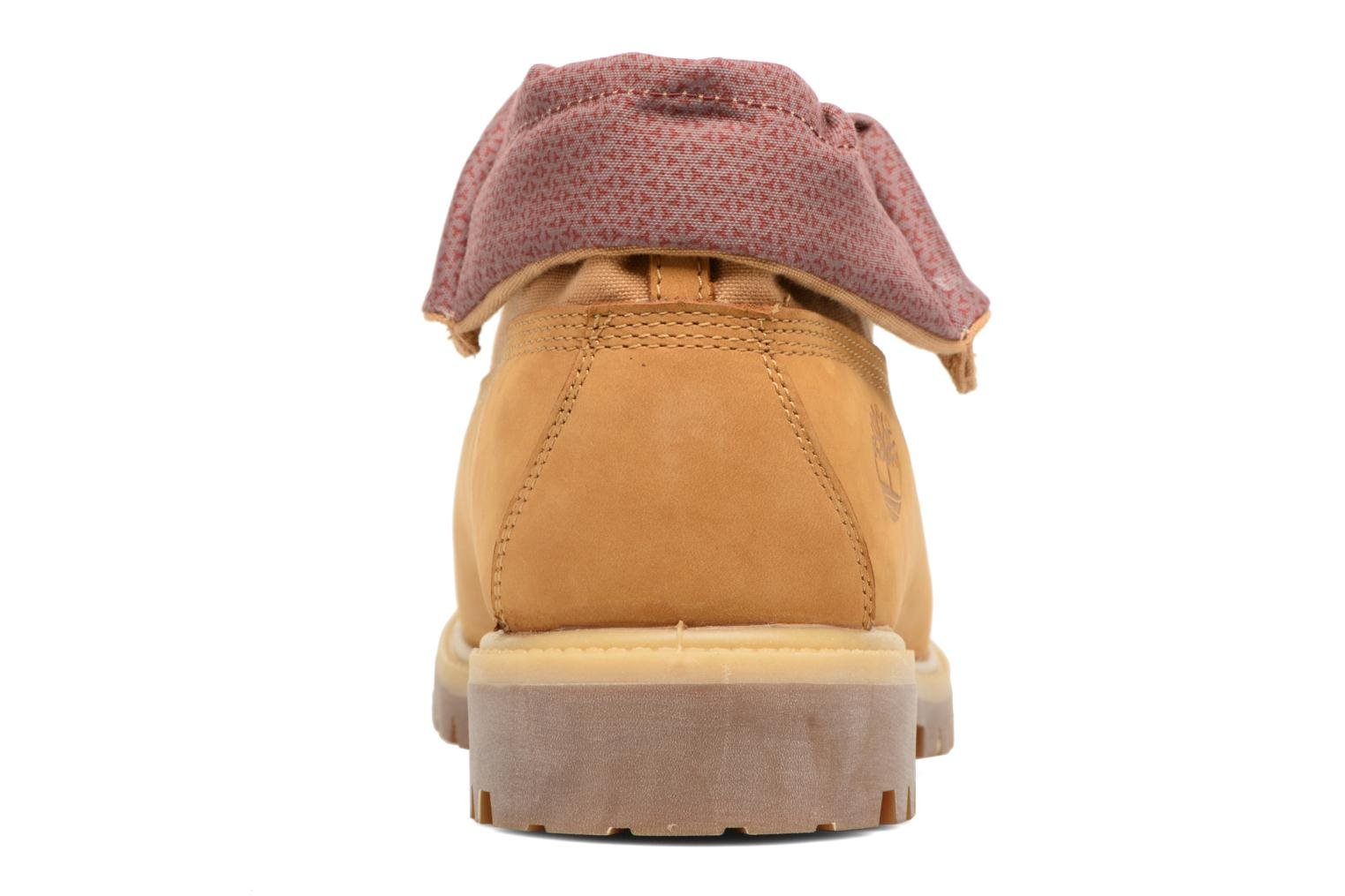 Bottines et boots Timberland Roll Top F/F AF Marron vue droite
