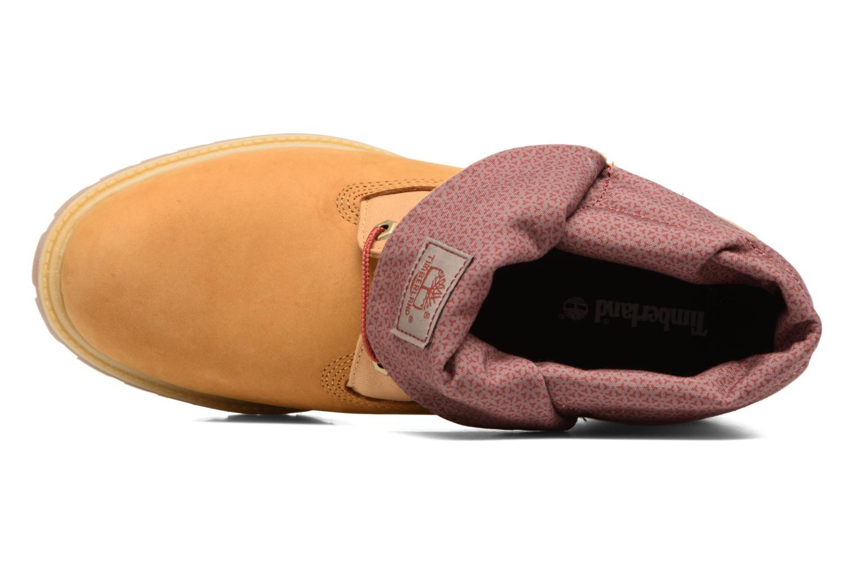Stiefeletten & Boots Timberland Roll Top F/F AF braun ansicht von links