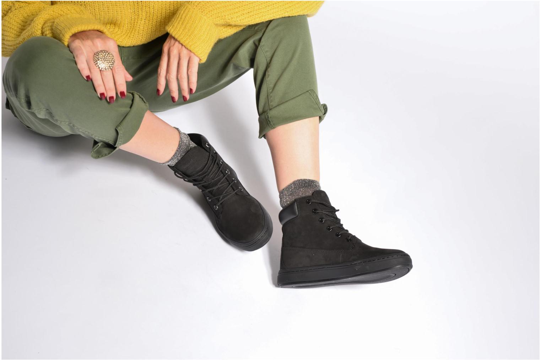 Sneaker Timberland Londyn 6 Inch schwarz ansicht von unten / tasche getragen