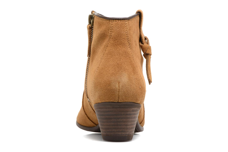 Bottines et boots Timberland Carleton Tassle Boot Marron vue droite