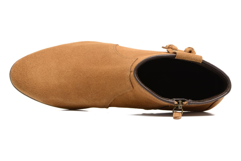 Bottines et boots Timberland Carleton Tassle Boot Marron vue gauche