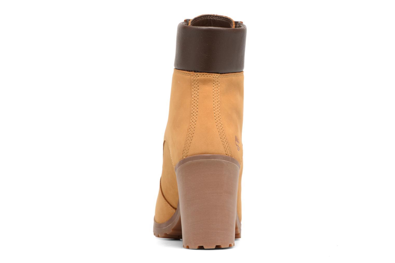 Bottines et boots Timberland Allington 6in Lace Up Marron vue droite