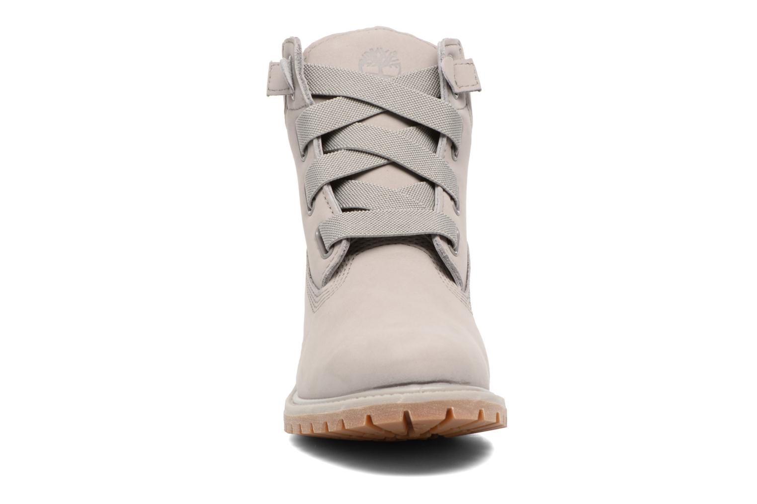 Bottines et boots Timberland 6in Premium Boot - W Gris vue portées chaussures