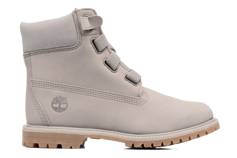 Botines  Timberland 6in Premium Boot - W Gris vistra trasera