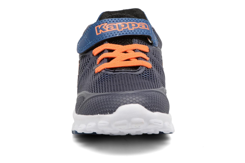 Baskets Kappa Speeder 3 EV Bleu vue portées chaussures