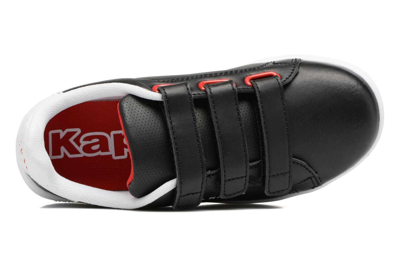 Baskets Kappa Palavela 3V Noir vue gauche