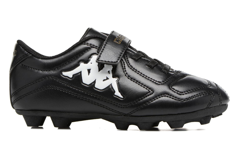 Chaussures de sport Kappa Parek FG Kide EV Noir vue derrière