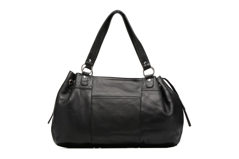 Sacs à main Pieces Jihano Leather Bag Noir vue face