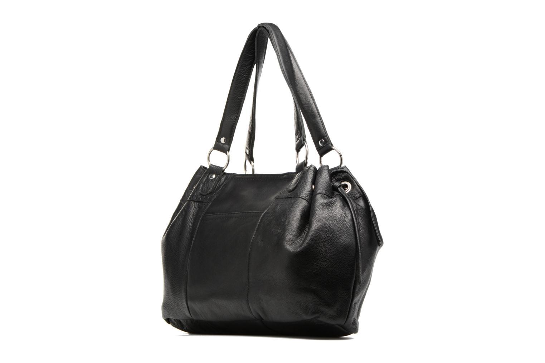 Sacs à main Pieces Jihano Leather Bag Noir vue droite