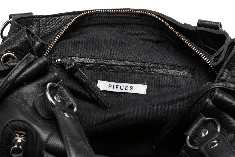 Sacs à main Pieces Jihano Leather Bag Noir vue derrière