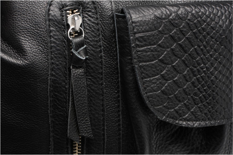 Sacs à main Pieces Jihano Leather Bag Noir vue gauche