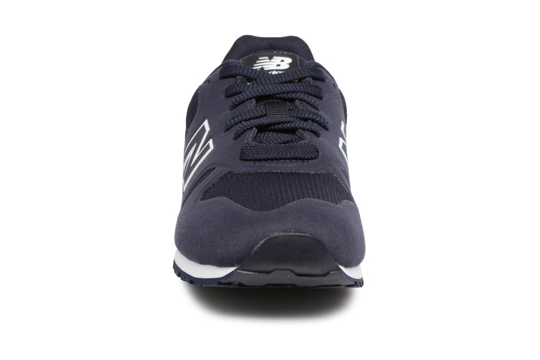 Baskets New Balance KD373 Bleu vue portées chaussures