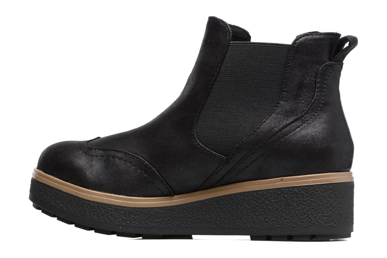 Bottines et boots Les P'tites Bombes Carine Noir vue face
