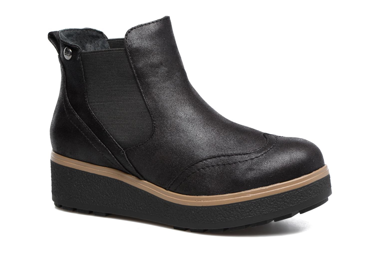 Bottines et boots Les P'tites Bombes Carine Noir vue détail/paire