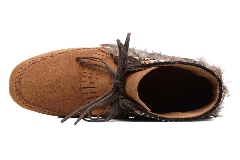 Bottines et boots Les Tropéziennes par M Belarbi Tomawok Marron vue gauche