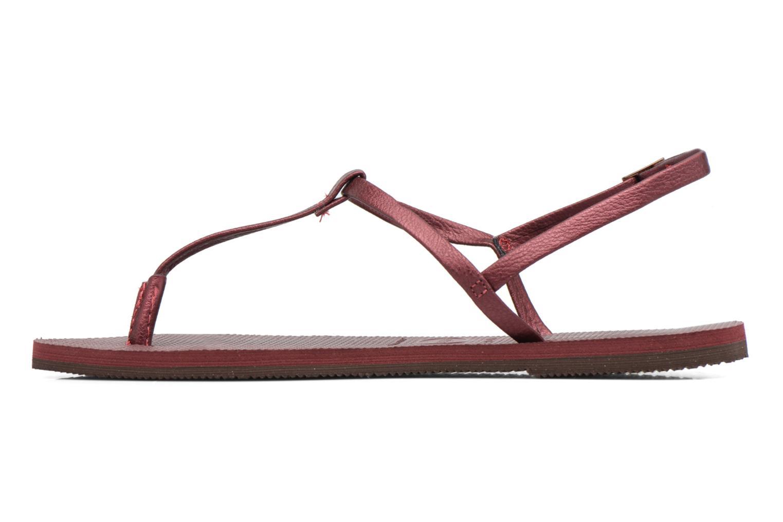 Sandales et nu-pieds Havaianas You Riviera Bordeaux vue face
