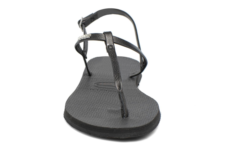 Sandales et nu-pieds Havaianas You Riviera Noir vue portées chaussures
